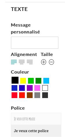 Personnalisation avec texte de vos badges fabriqués en France - Badges Invader